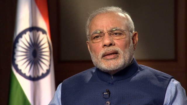 Indian Prime Minister, Narendra Modi [Photo Credit: CNN]
