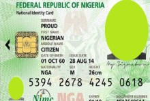 National ID card used to illustrate the story