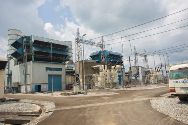 Aerial view of the Afam Power Plant during the Hon. Minister of Power, Works & Housing, Mr Babatunde Fashola, SAN inspection tour of the Afam Power Plant in Portharcourt, Rivers State on Thursday 8, June 2017.