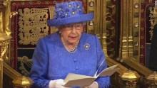 Queen Elizabeth opening the British Parliament [Photo Credit: CNN International]