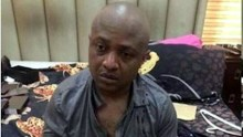 Arrested kidnapper Evans