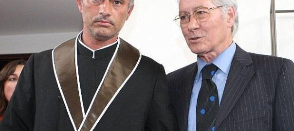 Jose Mourinho and father, Felix Mourinho