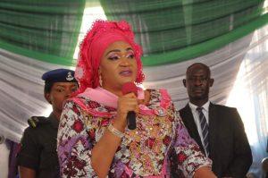 The wife of Ebonyi governor, Rachael Umahi [Photo: Authentic News Daily]