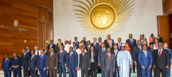 ACTING PRESIDENT YEMI OSINBAJO, SAN, REPRESENTS NIGERIA AT THE SUMMIT OF THE 29TH ORDINARY SESSION OF THE ASSEMBLY OF THE AFRICAN UNION IN ETHIOPIA TODAY, 3RD JULY 2017, PHOTOS: NOVO ISIORO.