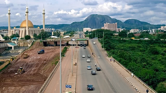 Aerial view of Abuja [Photo: Hope for Nigeria]