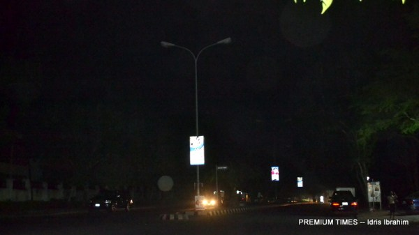 Deteriorated state of streetlights in Abuja