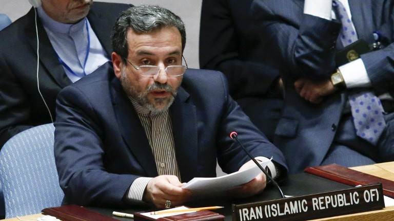 Deputy Foreign Minister Abbas Araghchi [Photo: The Times of Israel]