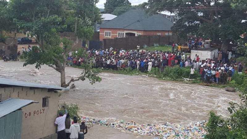President Buhari Inaugurates 3.35km Drainage In Benue