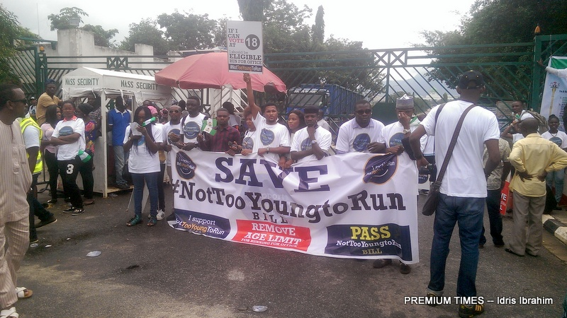 After youth protest, Nigerian lawmakers pledge to lower age requirement for elective office