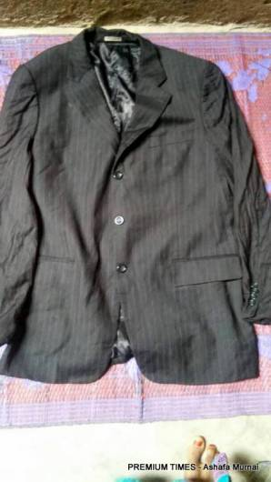 Ex-President Jonathan's clothes