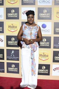 Ireti Doyle at EBONYLIFE TV's 4th anniversary in Lagos