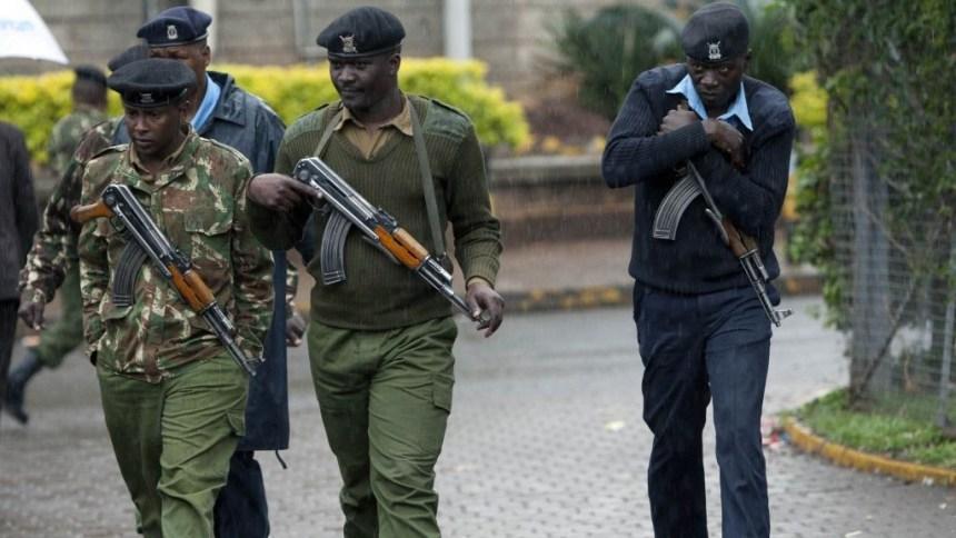 Kenyan Police [Photo Credit: ethioalert.com]