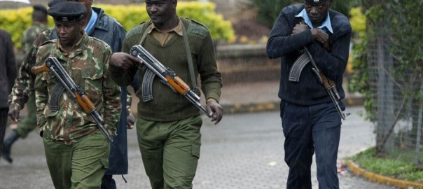 Kenyan Police [Photo Credit: ethioalert.com]