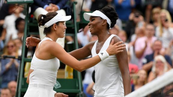 Muguruza thrashes Venus Williams to win first Wimbledon title [Photo credit: ABC News]