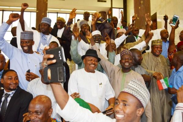 Supreme Court sacks Sheriff, declares Makarfi authentic PDP leader in Abuja