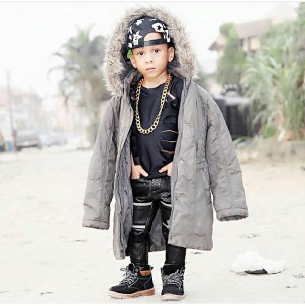 Toyin's son