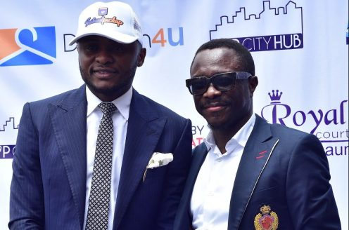 Ubi Frankin and Julius Agwu