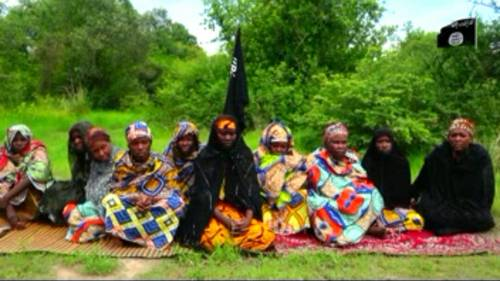 Women abducted by Boko Haram [Photo: Sahara Reporters]