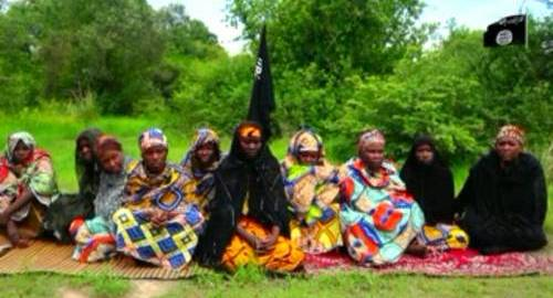 Women abducted by Boko Haram [Photo: Sahara Reporters]