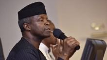 Nigeria Vice President, Yemi Osinbajo