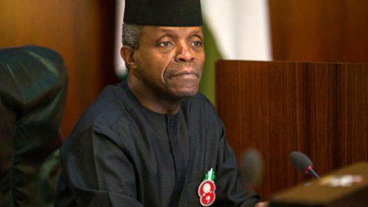 Acting President, Yemi Osinbajo