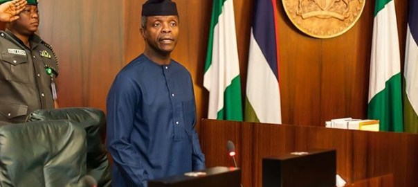 Yemi Osinbajo at NEC meeting