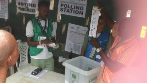 Voting ends at Olorunsogno unit, ward 10 Egbedore LG, counting begins