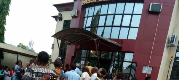 Alausa passport office