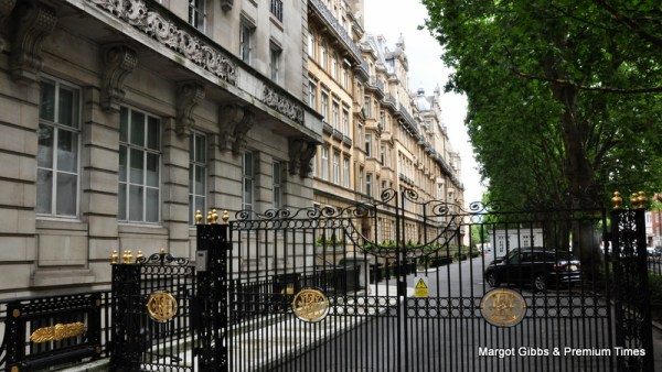 Benedict Peters bought this £2.8m luxury flat in Harley House, London, in March 2011, with the help of London-based estate agent Daniel Ford. The property is now frozen.