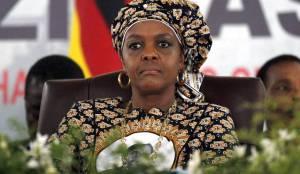 Zimbabwean first lady Grace Mugabe. [Photo Credit: Daily Maverick]