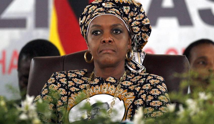 Former Zimbabwean first lady Grace Mugabe. [Photo Credit: Daily Maverick]