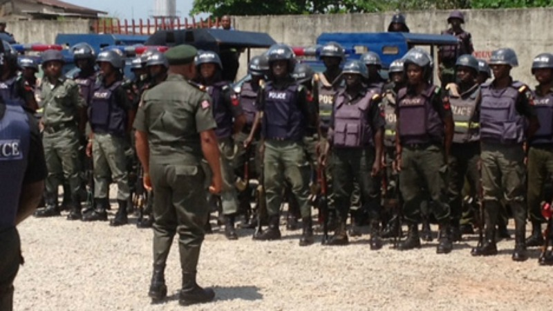Nigerian Mobile Police Officers