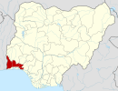 Ogun on map