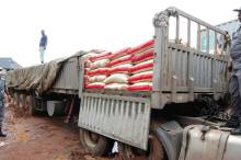 Smuggled rice impounded by Nigeria Customs5