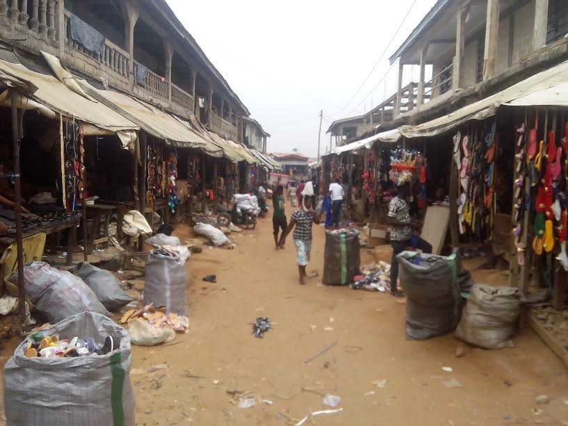 Ariaria market, Aba. [Photo Credit: Ripples Nigeria]
