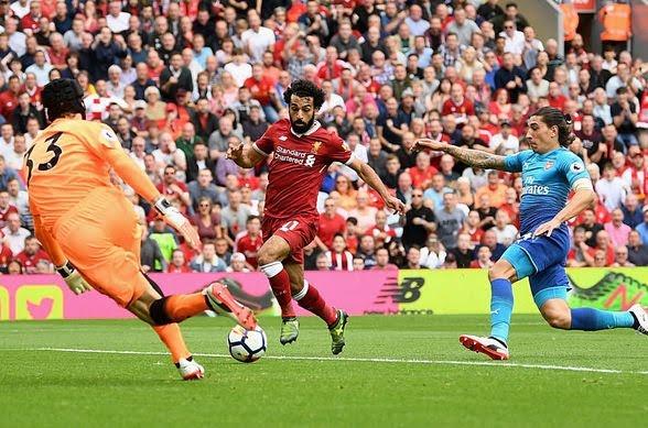 Mohamed Salah's goal [Photo Credit: FanSided]