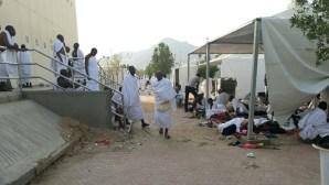 Nigerian pilgrims in Arafat