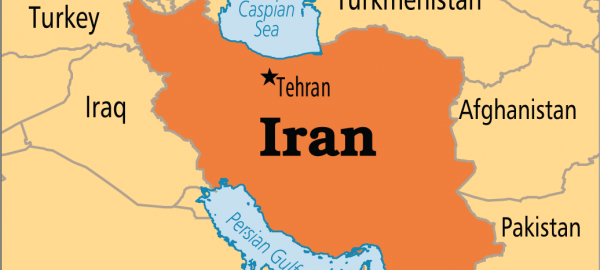Iran on Map. [Photo credit: Operation World]