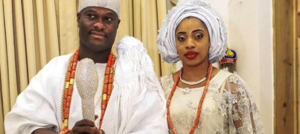 Ooni Adeyeye and Olori Wuraola