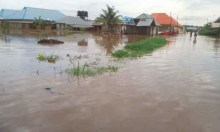 Benue flood used to illustrate the story