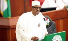 Buhari in NASS