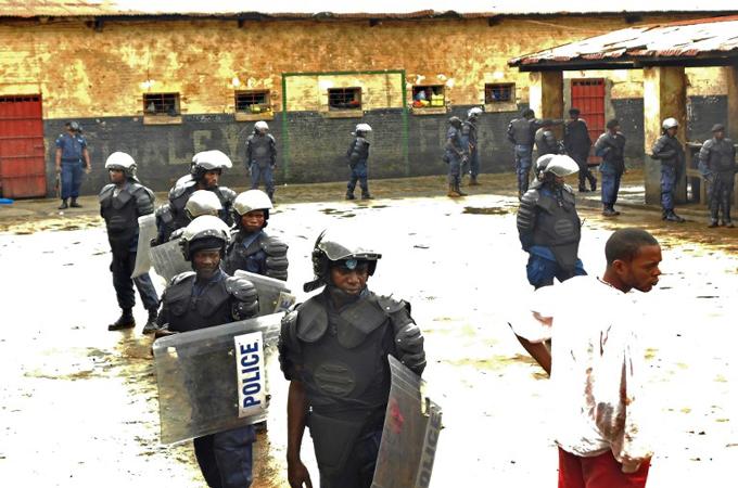 Congo jail [Photo credit: Al Jazeera]