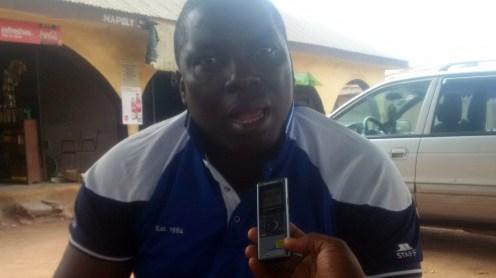 Abiodun Adegoroye(Vice-Chairman CDA)