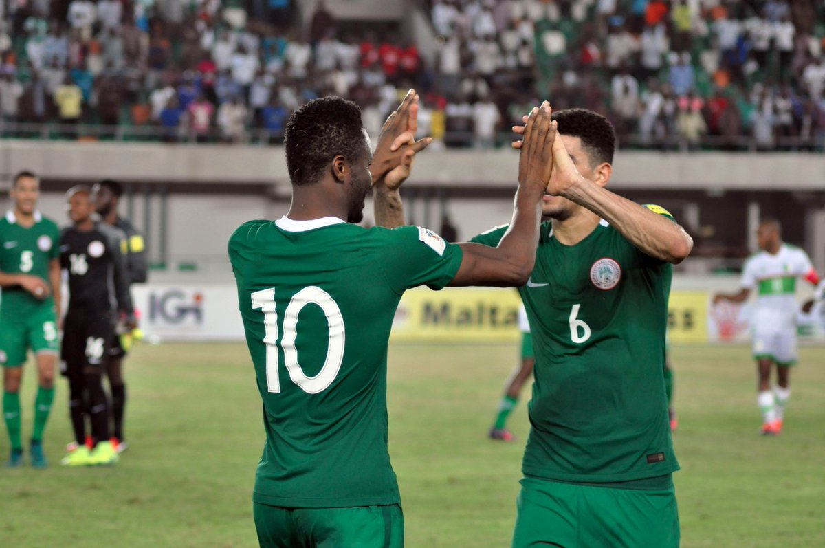 Alex Iwobi goal sends Nigeria to World Cup as first African qualifiers