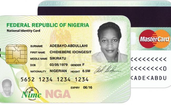 New National Identity card [photo credit: Encomium Magazine]