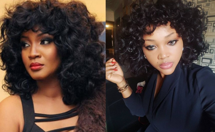 Omotola and Mercy Aigbe
