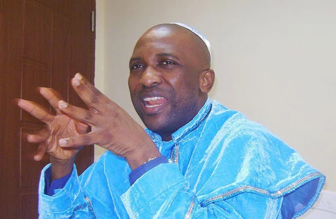 General Overseer of the Inri Evangelical Spiritual Church, Lagos, Elijah Ayodele