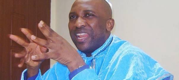General Overseer of the Inri Evangelical Spiritual Church, Lagos, Elijah Ayodele