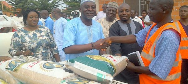 Relief materials donated to victims of Benue flood