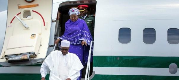 President Buhari and Aisha
